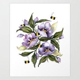 Bee Kind - No words Art Print