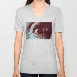 Haunting Eye  Unisex V-Neck