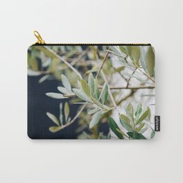 Photo of a Mediterranean Olive Tree, in Trastevere Rome, Italy | Fine Art Travel Photography |  Carry-All Pouch