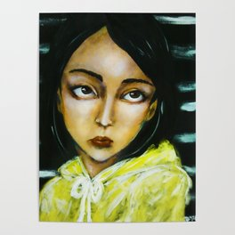 Jia (girl portrait) Poster