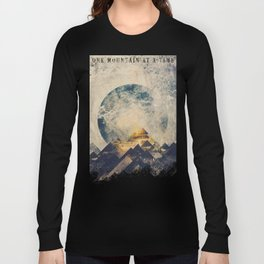 One mountain at a time Long Sleeve T-shirt
