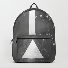 Creative Up and Down Abstract Arrows Backpack
