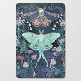 Luna Moth Cutting Board