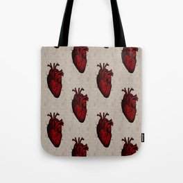 Human Heart Tote Bag
