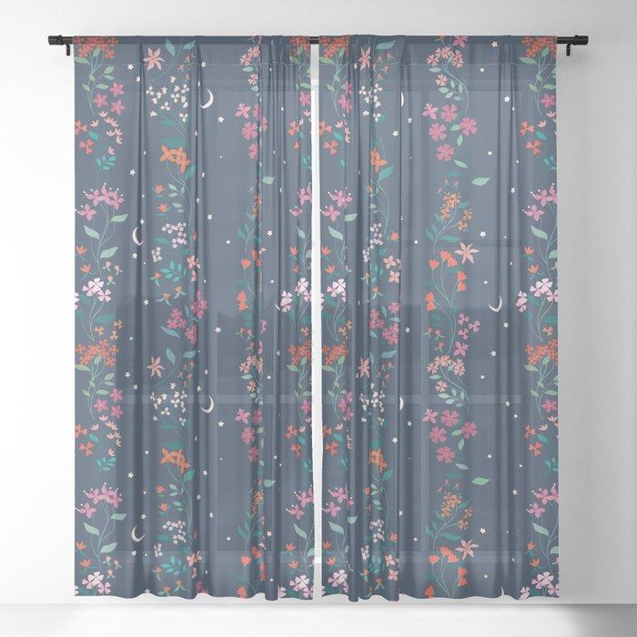 Dusk Sheer Curtain