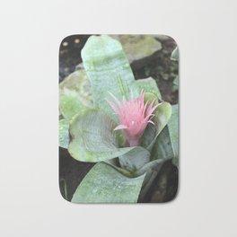 Pink Tropical Flower Bath Mat