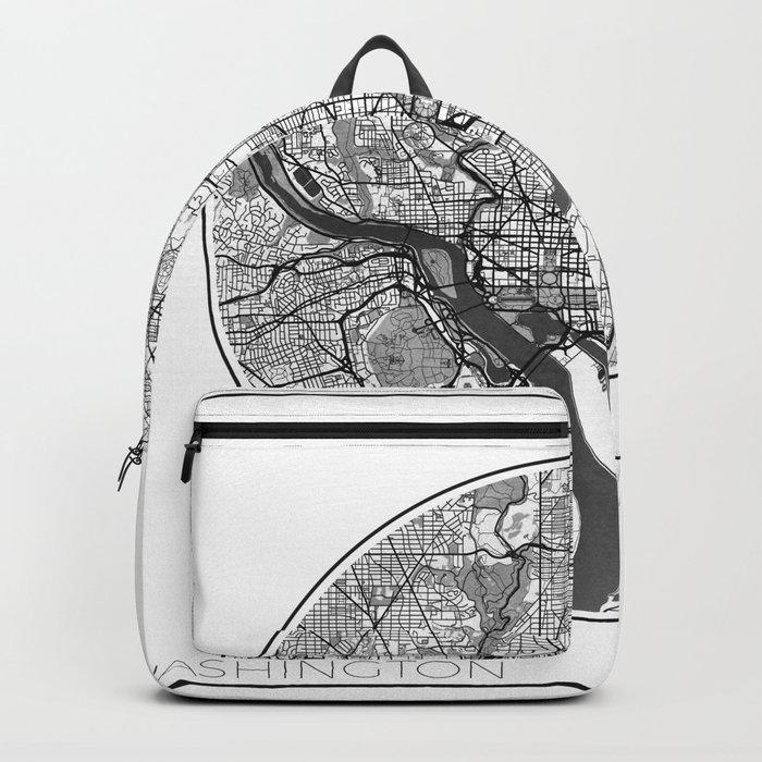Washington Map Universe Backpack