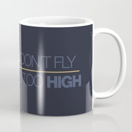 If sparks don't fly, your ride's too high v7 HQvector Coffee Mug