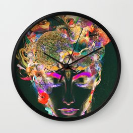 Mahalaya Wall Clock