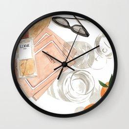 Still Life II Wall Clock