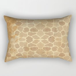 Vintage Giraffe Rectangular Pillow