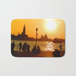 Sunset in Venice Bath Mat