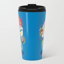 Kara vs the Forces of Darkseid Travel Mug