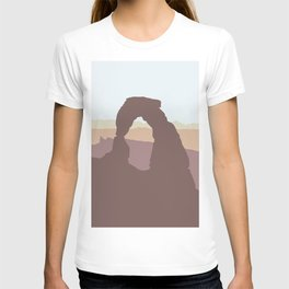 Arches National Park - Modern Layers T-shirt