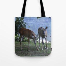 Grazing Deer Tote Bag