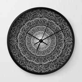 Lotus Mandala 2 Wall Clock