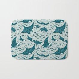 Manta ray Bath Mat