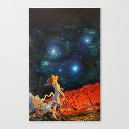 Earth Gazer Canvas Print