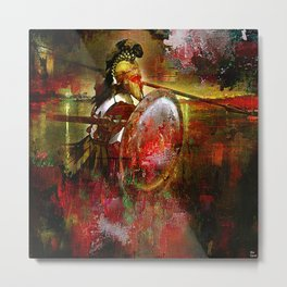 The Spartan Metal Print