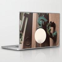 green lantern Laptop & iPad Skins featuring Green Lantern by Brooke Copani