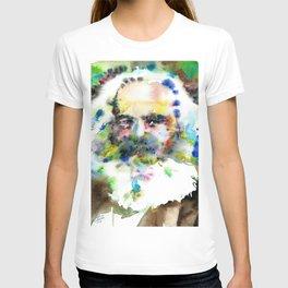 KARL MARX - watercolor portrait .3 T-shirt