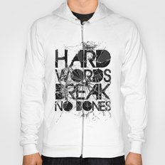 HARD WORDS Hoody