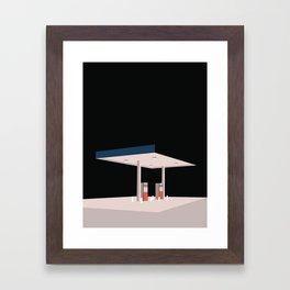 TANKSTATION Framed Art Print