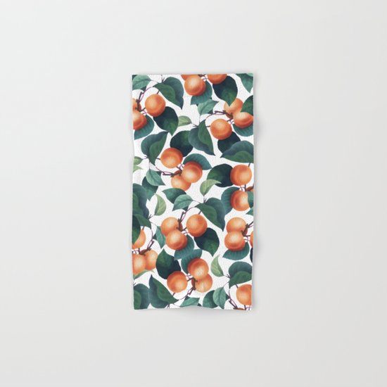 Tropical Fruit #society6 #decor #buyart Hand & Bath Towel