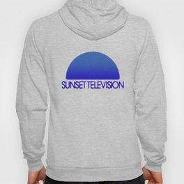 Sunset Television Logo Blue Hoody