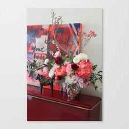 Flower Design 9 Canvas Print