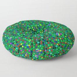 Colorful Rain 08 Floor Pillow