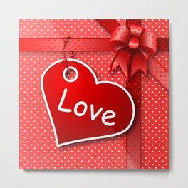 Valentine's  Gift G274 Metal Print