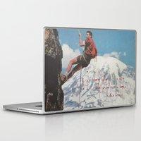 motivation Laptop & iPad Skins featuring MOTIVATION by Josh LaFayette