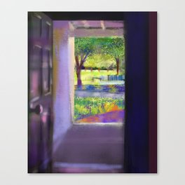 Outside the door Canvas Print