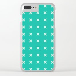 many x Clear iPhone Case