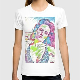 Brie Larson (Creative Illustration Art) T-shirt