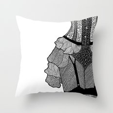 La Femme 02 Throw Pillow