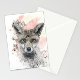 THE FOX KNOWS Stationery Cards
