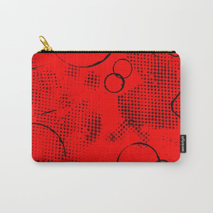 Texture #26 in Red Carry-All Pouch