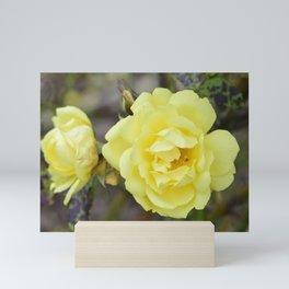 Yellow Roses Mini Art Print