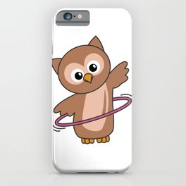 Owl The Hulls Sport Sweet Owls Sweet Bird iPhone Case
