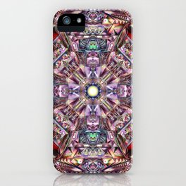 A Hydron Collider's Reactor Room iPhone Case
