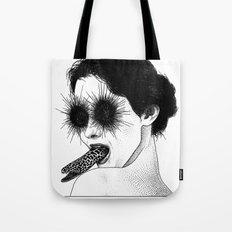asc 591 - Le regard de la Méduse (The mesmerizing mermaid) Tote Bag