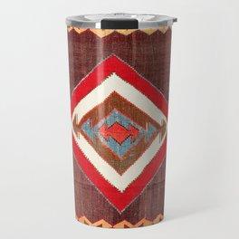 Aksaray Cappadocian Central Anatolia Kilim Print Travel Mug