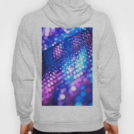 Blue & Violet Glitter Abstracts Hoody