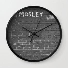 Mosley Wall Clock