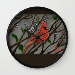 Male Cardinal DP151210a-14 Wall Clock