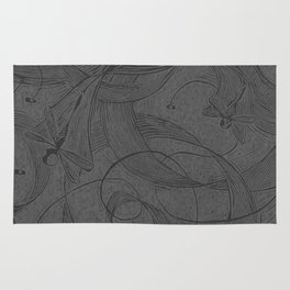 Draggin Flys - I have the actual hand printed and signed prints for sale still. Unframed $40.00 Rug