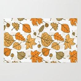 Autumn pattern Rug