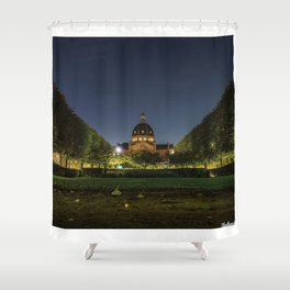 Clear Night Shower Curtain